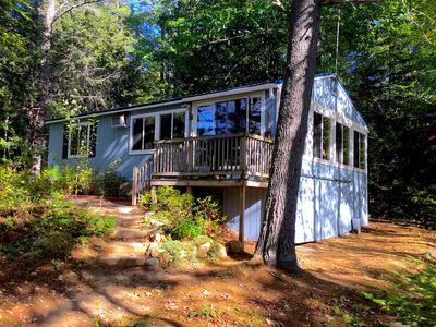 Photo for *** Unique Lakefront Cottage In A Private Setting - Maine At Its BEST! ***