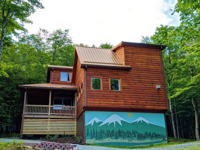 Photo for JUST ADDED * Custom Cabin * Pool Table * King * AC * Close to Activities