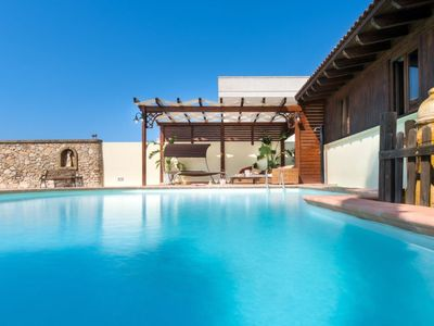 Photo for 3 bedroom Villa, sleeps 9 with Pool, FREE WiFi and Walk to Beach & Shops