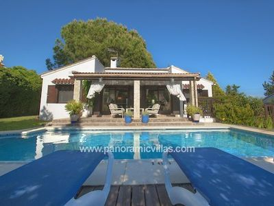 Photo for 3 bedroom Villa, sleeps 6 in Marbella with Pool, Air Con and WiFi
