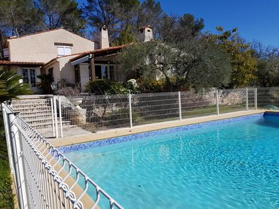 Photo for Callian, Large house with private pool, 10 people