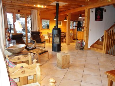 Photo for 4 bedroom Villa, sleeps 8 in Saint-Gervais-les-Bains with WiFi