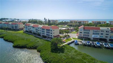 Photo for Stunning Bayview 2 Bed / 2 Bath Condo/ Boat dock  -allows pets