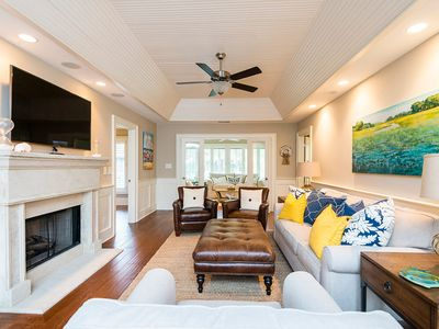Photo for This beautifully renovated villa is a true turnkey beach house.