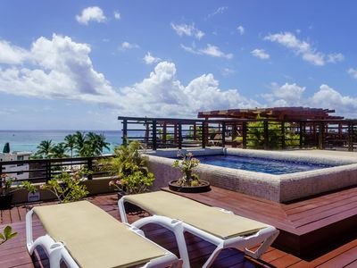 Photo for OCEAN VIEW Luxury PH @ Aldea Thai w/ incredible private rooftop & pool
