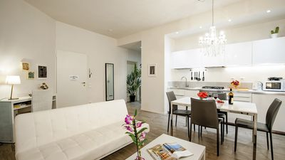 Photo for FLORENCE TORNABUONI LUXURY APARTMENT. Center of Florence, near Train Station