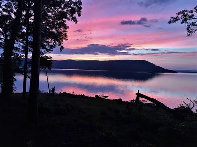 Photo for Awesome View, maximum entertainment Lake House, just 75 yards to the lake.
