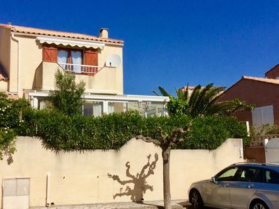 Photo for NARBONNE-PLAGE 2 bedroom villa with pool in the residence