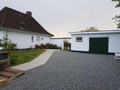 Photo for Nordseeblick holiday home in a secluded location with sea views and dog