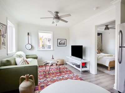 Photo for Artsy 1BR in Lower Garden District by Sonder