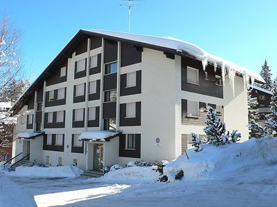 Photo for Crans-sur-Sierre Apartment, Sleeps 4 with WiFi