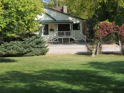 Lovely  country home on historic eight acre estate in the black hills