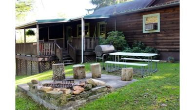 Photo for The Evergreen! Historic Cabin