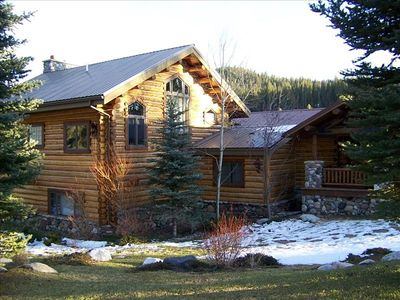 Photo for Elk Crossing - Beautiful home nestled on the South Fork of the Gallatin River