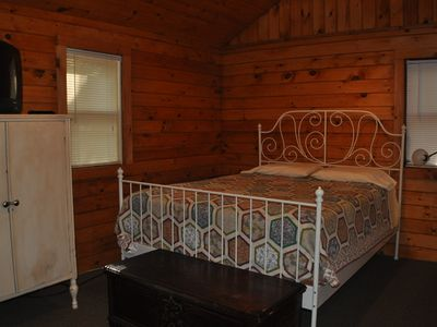 Photo for Pine Grove Cottages #5 -- Charming Summer Cabin in Lake George Village