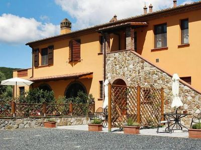Photo for Holiday residence Podere Scaforno, Castelnuovo Miserico  in Riviera degli Etruschi - 4 persons, 2 bedrooms
