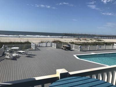 SPECIALS for August! - Newly Renovated Kitchen and Bathroom- Oceanfront Condo!