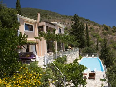 Photo for Luxury villa overlooking the sea with private pool-Villa Iris