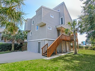 Photo for Beach Vacation Perfection! Beautiful Cozy Home Just A 3 Minute Walk To The Beach!
