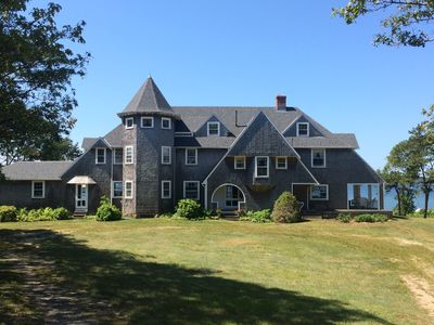 Photo for Oceanfront Architectural Gem with Fabulous Views of Buzzards Bay