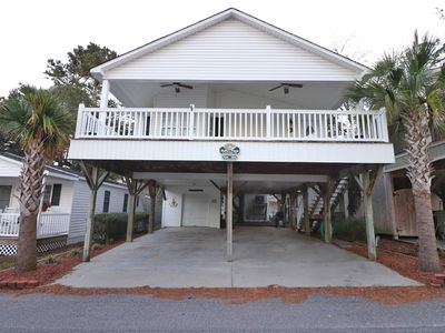 Photo for 1830A Starfish Beach House on Stilts - 3 BR/2 BR - Golfcart/pet friendly