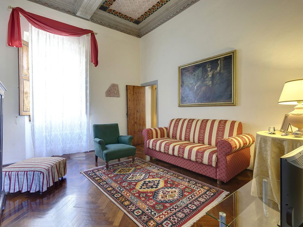 Fresco Painting Apartment With A Large Terrace