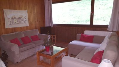 Lounge, view on the slope