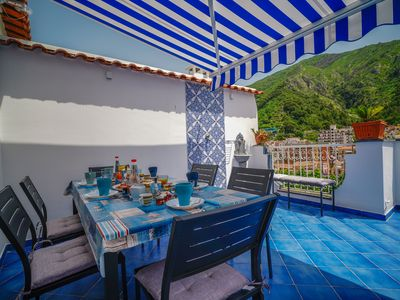 Photo for LEVANTE - AMAZING TERRACE / SEA VIEW - APARTMENT UP TO 7 GUESTS IN THE CENTER
