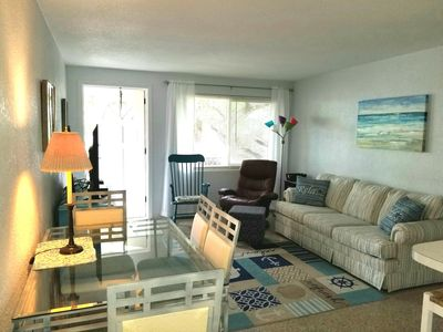 Photo for 🐬   🌹SUMMER DEALS 🌴NEW BEACH SIDE HOME 3/2  PRIVATE YARD  PROPANE GRILL