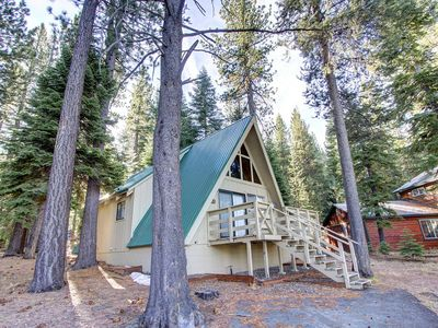 Photo for Cozy A-Frame Tahoe Cabin with Wood-stove (COH0653)