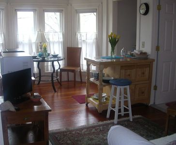 Photo for Northern Rhode Island Antique Home One-Bedroom Second Floor Apartment