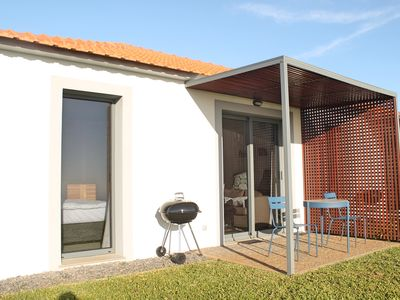 Photo for In peaceful Prazeres with seaview and pool – Orchid Studio in Quinta Inácia
