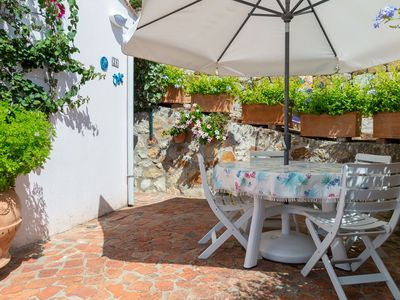 Photo for Two-room apartment with private access to the Biodola beach