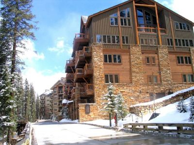 Photo for Luxury Ski-in and Ski-Out Condo, Kids Ski Free & Worry-Free Booking!