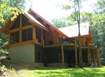 Photo for One of a Kind Log Home Tucked Away in the Woods!
