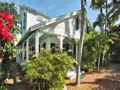Photo for Gorgeous home w/ private pool, porch & terrace - dogs OK, walk everywhere!