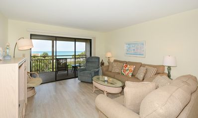 Photo for Chinaberry 453  - 2 Bedroom Condo with Private Beach with lounge chairs & umbrella provided, 2 Po...