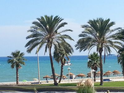 Photo for Beachfront 4bedrooms apartment, free WIFI, free parking,