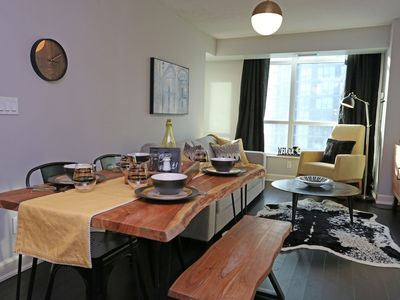 Photo for Serene waterfront condo in downtown Toronto!