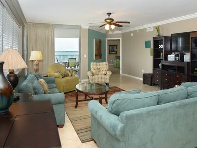 Photo for Heron 401--HUGE 3Br AND 3 Ba Corner Condo with Room for All! Sleeps 12!!