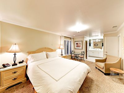 Sleeping Area - Welcome to Napa Valley! This studio is professionally managed by TurnKey Vacation Rentals.