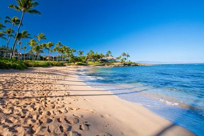 Beautiful Kapalua Bay. Rated America's Best Beach by Travel Channel & Dr. Beach.