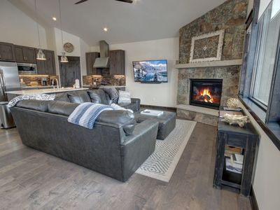 Photo for The newest complex in Keystone, this 4 bedroom, 3.5 bathroom townhome is within a walking distance to all the activities in the village. 2,200 square foot townhome features two spacious living areas where guest can enjoy an open layout space that includes