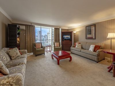 Photo for Royal Garden- 2BR/2BA With Partial Ocean View on 18th Floor! - 1K1Q1F