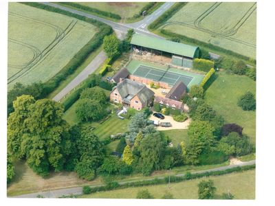 Photo for Luxurious Country House in Stratford upon Avon with tennis court and alpacas