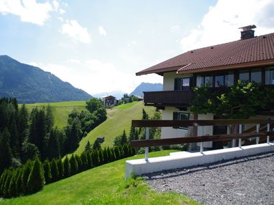 Photo for Large house with sauna, Tyrolean-style, in a romantic mountain panorama location