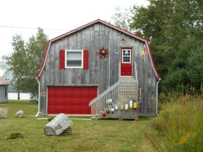 Photo for Waterfront Tree House Cottage on the River. $135.00. 10 min to town.Pet friendly