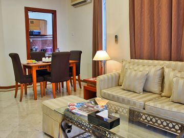Family 2 Bed Rooms with Balconi & Kitchenette