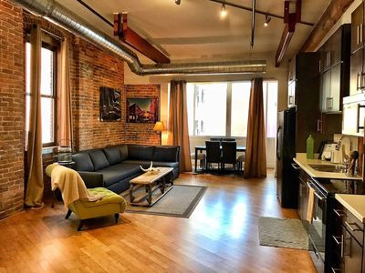 Photo for Walk to Honky Tonks! Downtown Nashville Loft 50-70% off M-W! Dunn, Sleeps 6 Nashville Vacation Rentals by MusicCityLoft on VRBO