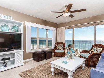 Photo for Spacious Condo w/ Gulf View! Shared pool and more!